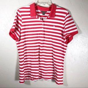 Tommy Bahama Polo Shirt Golf Shirt Buttons